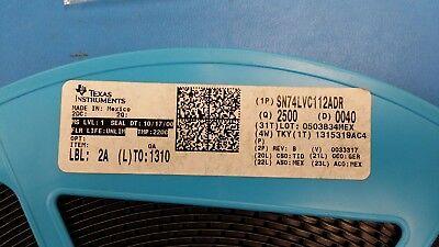 10 Pcs Sn74lvc112adr Ti Flip Flop Jk-type Neg-edge 2-element 16-pin Soic