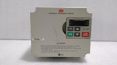 [Used] LG / SV022iG5-2U / BVARIABLE FREQUENCY DRIVE, 3HP 2.2kW