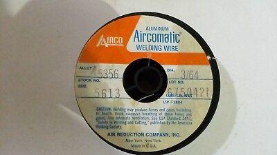 Airco 5356 364 1 Lb Roll Welding Wire Aluminum Spool Gun Aircomatic Mig Tig