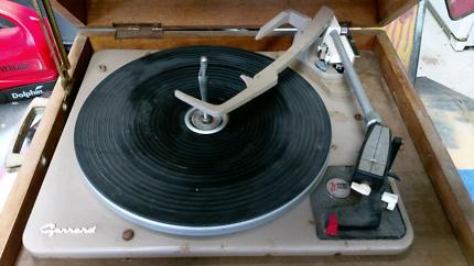 Gerrard Vintage Record Player AT6