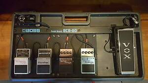 Boss BCB-60 Pedal Board with Pedals Crows Nest North Sydney Area Preview