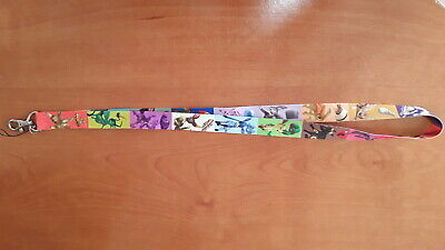 The best Pokemon Game Ever Cell Phone Holder Lanyard with ID Bagde Clip (Best Cell Phone Ever)