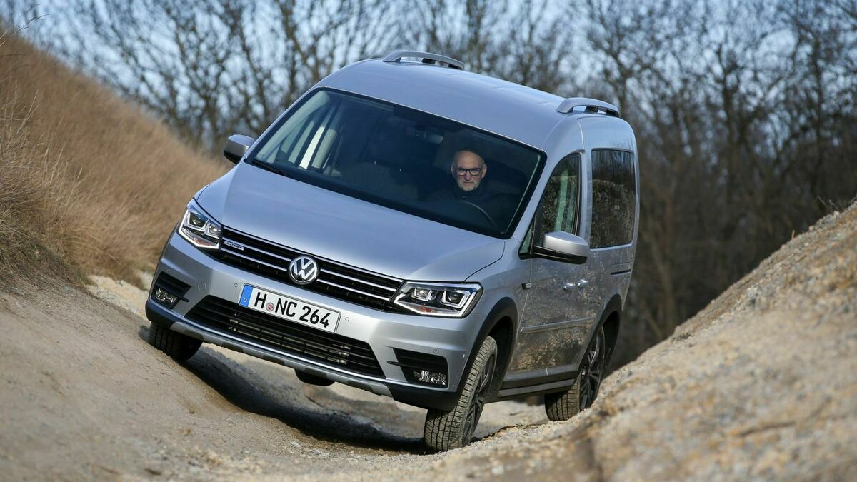 VW Caddy Alltrack Frontansicht