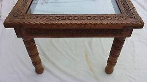 EXQUISITE CARVED COFFEE TABLE, VGC! Greenslopes Brisbane South West Preview