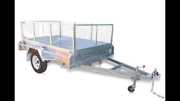 New 9 x 5 Gal Dipped Trailer with Cage @ SEATONS Pimpama Gold Coast North Preview