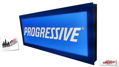 Progressive Signsinsurance Signled Light Box Sign