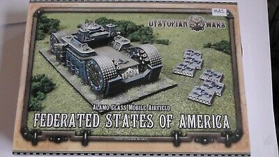 Class Mobile - Dystopian Wars Alamo Class Mobile Airfield Federated States of America NiB Lot 1
