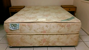 Matching mattress and base...queen Maroochydore Maroochydore Area Preview