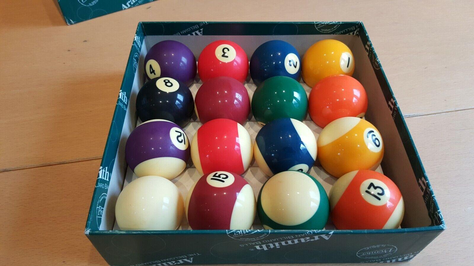Aramith Billiard Balls set, 2