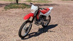 2016 Honda CRF 230 Dirt Bike Motocross Farm Trail Fun
