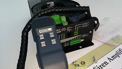 Dual Tone Xa600 Hands Free Siren 400w Federal Police Fire Pa Code 3 Two Relays