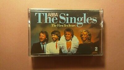 ABBA, The Singles: The First Ten Years compilation Cassette Tape 1 (Polar, 1982)