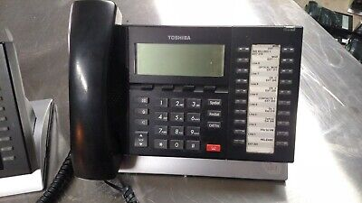 Toshiba DP5032-SD Business Display 20-Button Multi-line Telephone Complete, used for sale  Shipping to South Africa