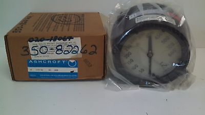 New Old Stock Ashcroft Duragauge 0-600psi Pressure Gauge 45-1279-ssl-04l-600