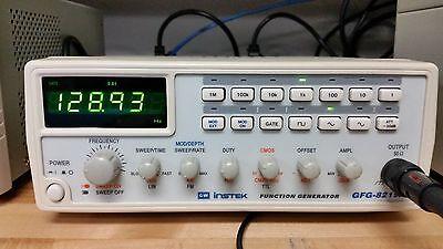 Gw Instek Function Generator M N Gfg 8219A