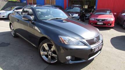 2010 Lexus IS250C Convertible D/AWAY NO MORE TO PAY Sunshine Brimbank Area Preview