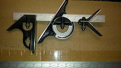 Starrett Combination Square W12 24 Inch 4r Grad. Rules