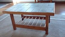 Two tiled top coffee tables Nowra Nowra-Bomaderry Preview