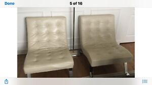 Fauteuil cuir / leather chair