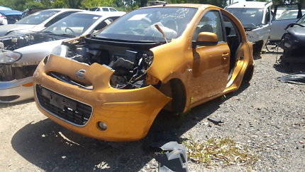 2012 NISSAN MICRA GOLD FOR WRECKING
