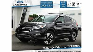 2015 Honda CR-V TOURING**AWD*CUIR*TOIT*GPS*CAMERA*BLUETOOTH*A/C*