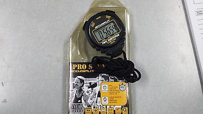 Accusplit Pro Survivor Stop watch / Watch Black Split alarm