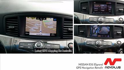 Nissan Elgrand E52 English 2017 AUS Map Navigation Upgrade