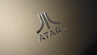 Atari Label / Aufkleber / Sticker / Badge / Logo 1.5 x 1.7cm  [134]