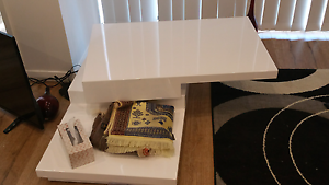 White glossy coffer table Holroyd Parramatta Area Preview