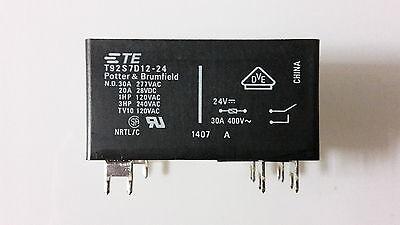 1x Wechsler Umschalter 361190244011 Finder 36.11 Printrelais 24V DC 10A