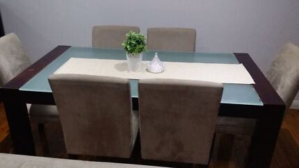 Dining table set 6-seater Monterey Rockdale Area Preview