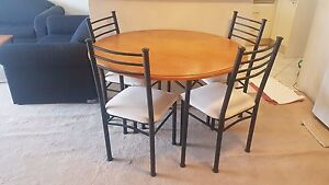 5 piece dining set- table and 4 chairs Strathfield Strathfield Area Preview