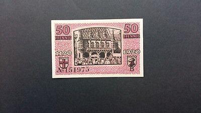 Rupertus 52.11 Notgeldschein Stadt Freiburg i.Br. 50 Pfg 30.3.1920