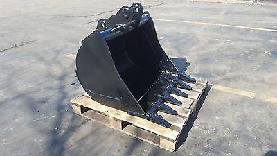 New 36 Komatsu Wb140 Backhoe Bucket With Coupler Pins