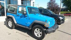 2011 Jeep Wrangler Sport TOIT DUR ET SOUPLE INCLUS