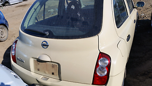Wrecking Nissan micra 2008 cream Rocklea Brisbane South West Preview