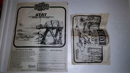 Vintage Star Wars Instruction booklets Huntingdale Gosnells Area Preview