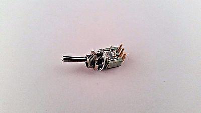 Alco Switch Tt11dg-ra-9t14 Spdt On-on .4a 20vdc Tiny Toggle Ra Pc Mount