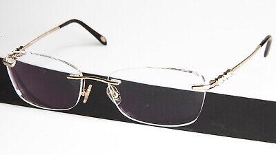 TIFFANY & Co TF 1110-H-B 6021 PALE GOLD EYEGLASSES GLASSES 53-16-135 B34mm (Glasses Company)