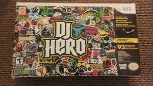 DJ Hero for Wii = Never used