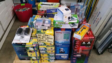 Aquarium / pond mixed products 20% OFF Hallam Casey Area Preview