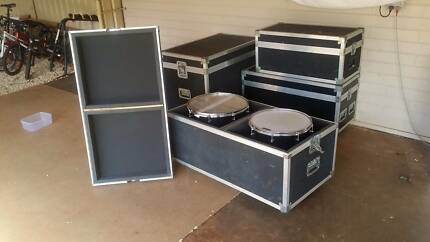 Drum kit road cases Kirwan Townsville Surrounds Preview