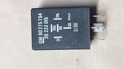 RELAY ABS Voltage Senator Lotus Carlton Cavalier Calibra GM 90275794 90 275 794