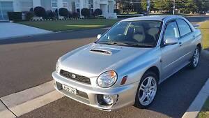 2001  MY02 Subaru Impreza Sedan Brighton-le-sands Rockdale Area Preview