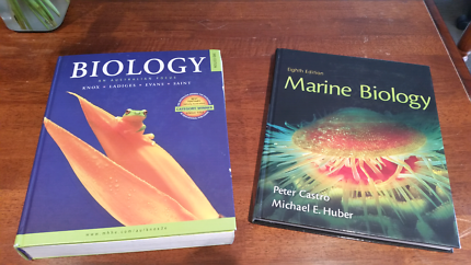 Biology / Marine Biology Textbooks