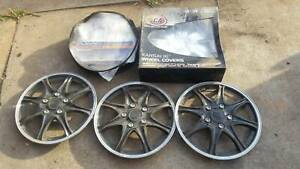"Kansai 16"" Wheel Covers - never used been in storage"