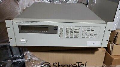 Hp Hewlett-packard Agilent 6627a System Dc Power Supply 0-20v0-2a 0-50v0-0.8a