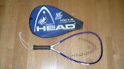 "Head Comp G XL 22"" Racquetball Racquet with Sudsey Monchik Case"