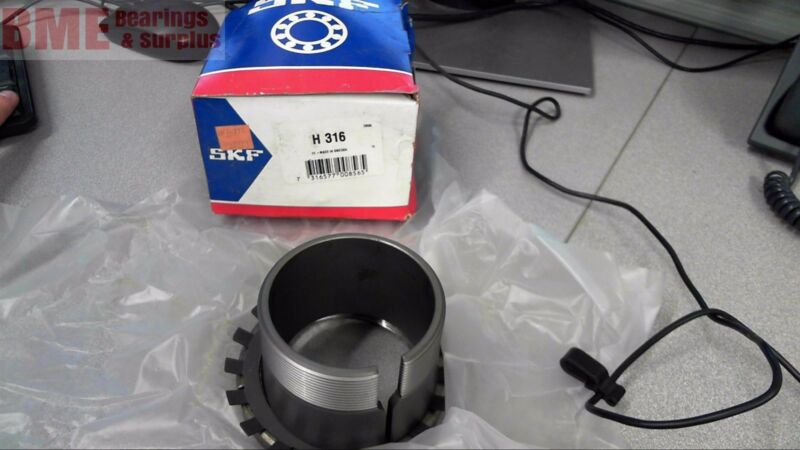 Skf H 316, Bearing Adapter Sleeve, W/ Locking Washer