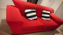Scarlet Red Sofa for Sale - Pick Up only Macquarie Park Ryde Area Preview